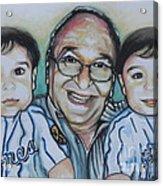 Grandpas Pride And Joy Acrylic Print