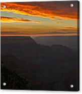 Grandview Sunset Acrylic Print