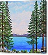 Granite Boulders Lake Tahoe Acrylic Print