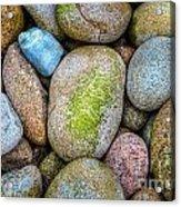 Granite Cobbles Acrylic Print