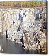 Granite Quarry, Barre, Vermont Acrylic Print