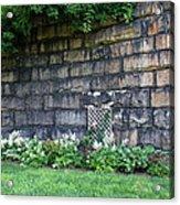 Granite Railroad Abutment Acrylic Print