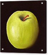 Granny Smith Apple Acrylic Print by Anastasiya Malakhova
