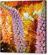 Granny's Gardens Acrylic Print