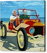 Granpas Racer Acrylic Print