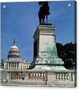 Grant And The Capitol Acrylic Print