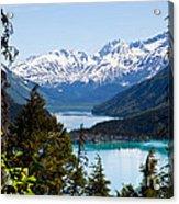 Grant Lake Overlook Acrylic Print by Chris Heitstuman