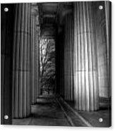 Grant's Tomb Columns Acrylic Print