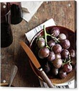 Grape Acrylic Print