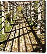 Grape Arbor Acrylic Print