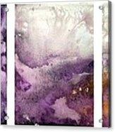 Grape Impressions Original Madart Painting Acrylic Print
