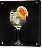 Grapefruit Gin Tonic Acrylic Print