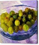 Grapes On The Half Shell Acrylic Print