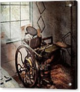 Graphic Artist - The Humble Printing Press Acrylic Print