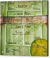Grass Greats Acrylic Print by Elaine Duras