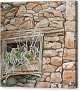 Grass In The Window Acrylic Print