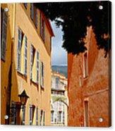 Grasse Alley France Acrylic Print