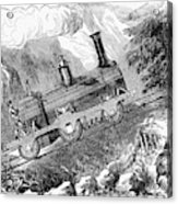 Grassi Locomotive, 1857 Acrylic Print