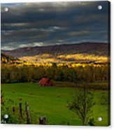Grassy Cove Tennessee Acrylic Print by Paul Herrmann