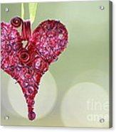 Grateful Heart Acrylic Print by Brenda Schwartz