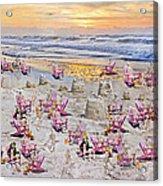Grateful Holiday Acrylic Print by Betsy Knapp