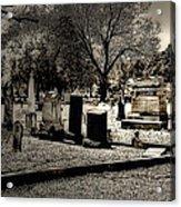 Grave Consequences Acrylic Print