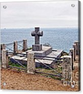 Grave Of Chateaubriand Acrylic Print