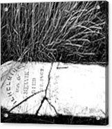 Grave Western Nevada  Acrylic Print