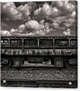 Gravel Train Acrylic Print