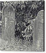Gravesite Gearheart Oregon Acrylic Print