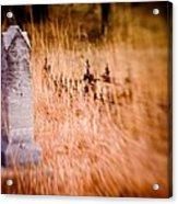 Graveyard 6792 Acrylic Print