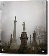 Graveyard Morning Acrylic Print
