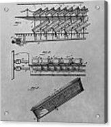 Graveyard Patent Acrylic Print