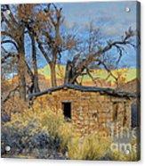 Gray Canyon Homestead Acrylic Print