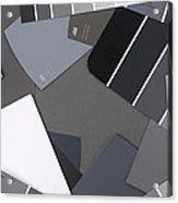Gray Card Checker O Meter Acrylic Print