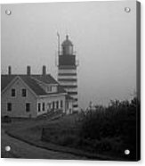 Gray Day In Maine Acrylic Print