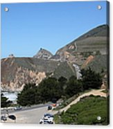 Gray Whale Cove State Beach Montara California 5d22614 Acrylic Print by Wingsdomain Art and Photography