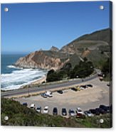Gray Whale Cove State Beach Montara California 5d22616 Acrylic Print by Wingsdomain Art and Photography