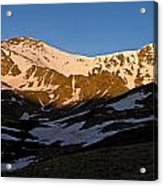 Grays Peak And Torreys Peak Panorama Acrylic Print