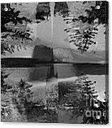 Grayscale Vision Trip Acrylic Print