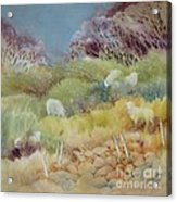 Grazing_in_the_grass Acrylic Print