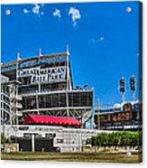 Great American Ball Park Acrylic Print