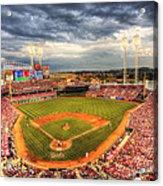 Great American Ballpark Acrylic Print by Shawn Everhart