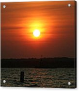 Great Ball Of Fire Acrylic Print