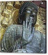 Great Buddha Of Nara Japan Acrylic Print