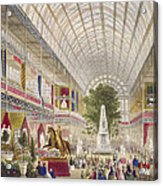 Great Exhibition, 1851 South Transept Acrylic Print
