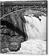 Great Falls In Paterson Nj Acrylic Print