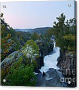 Great Falls Md Hdr 2 Acrylic Print