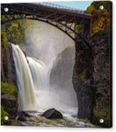 Great Falls Mist Acrylic Print