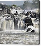 Great Falls Of The Potomac River Acrylic Print